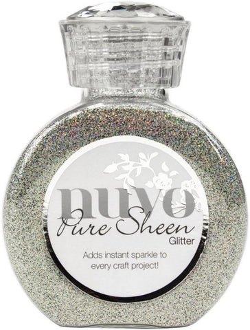 Tonic Studios Nuvo Pure Sheen Glitter 3.38oz Mirrorball NPSG 719 | Maple Treehouse