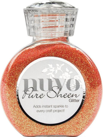Tonic Studios Nuvo Pure Sheen Glitter 3.38oz Pink Diva NPSG 725 | Maple Treehouse