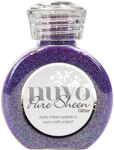 Tonic Studios Nuvo Pure Sheen Glitter 3.38oz Violet Infusion NPSG 723 | Maple Treehouse