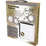 "Tim Holtz Travel Stamp Platform 6.5""X6.5"" 1711E"