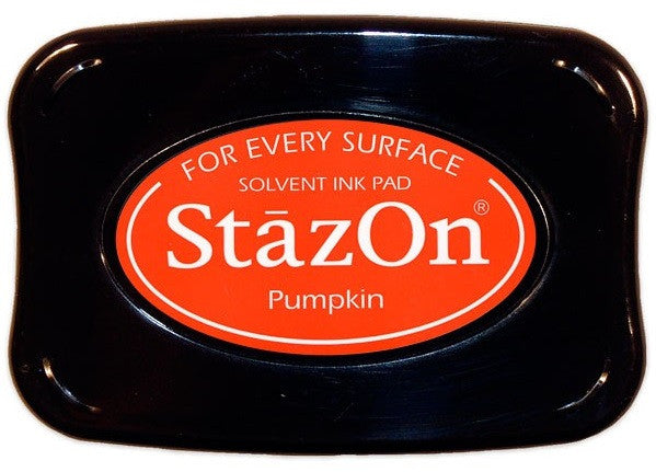 Tsukineko StazOn Solvent Ink Pad Pumpkin SZ 92 | Maple Treehouse