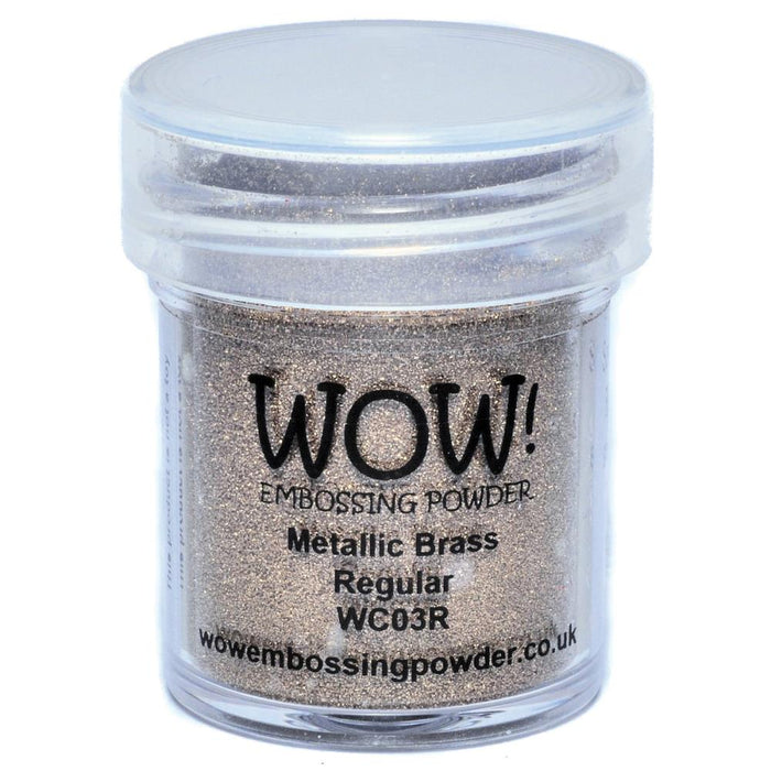 Wow Embossing Powder 15ml Brass WOW WC03R