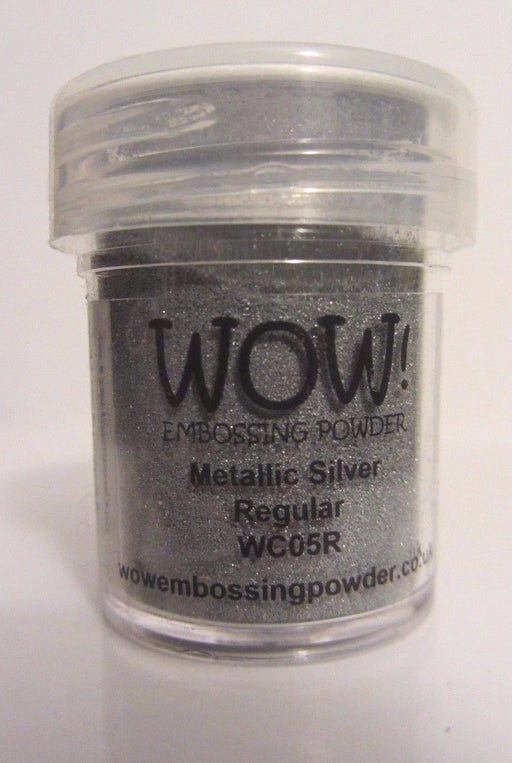 Wow Embossing Powder 15ml Silver WOW WC05R