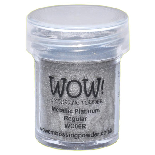 Wow Embossing Powder 15ml Platinum WOW WC06R