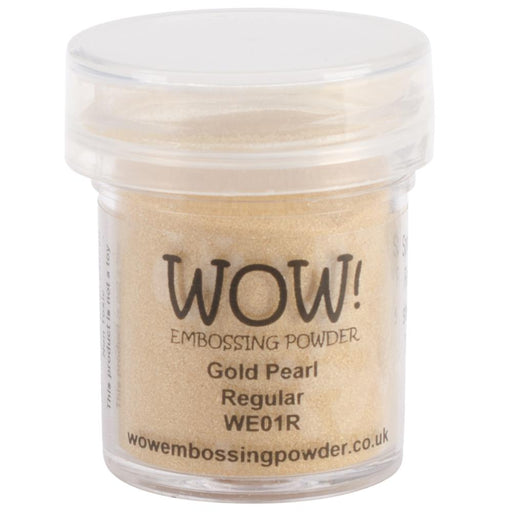Wow Embossing Powder 15ml Gold Pearl WOW WE01R