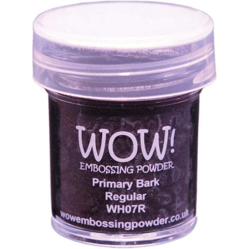 Wow Embossing Powder 15ml Primary Bark WOW WH07R