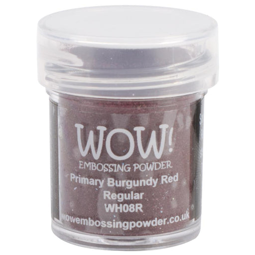 Wow Embossing Powder 15ml Primary Burgundy Red WOW WH08R