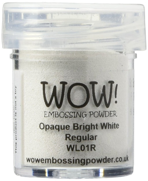 Wow Embossing Powder 15ml Opaque Bright White WOW WL01R
