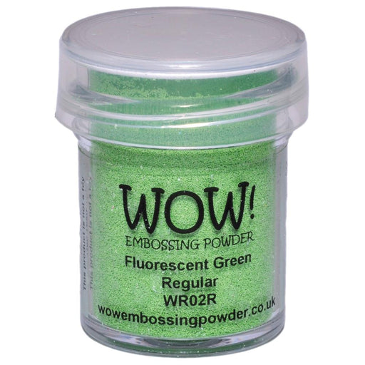 Wow Embossing Powder 15ml Fluorescent Green WOW WR02R