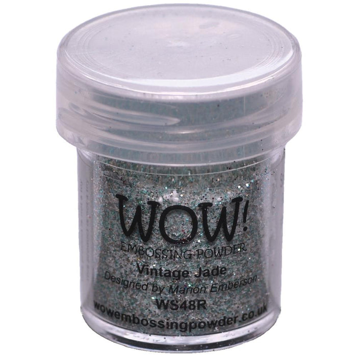 Wow Embossing Powder 15ml Vintage Jade WOW WS48R