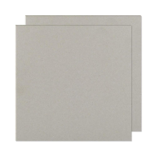 "We R Memory Keepers Cinch Book Board 8"" x 8"" 2-Pkg Gray Chipboard 61245 