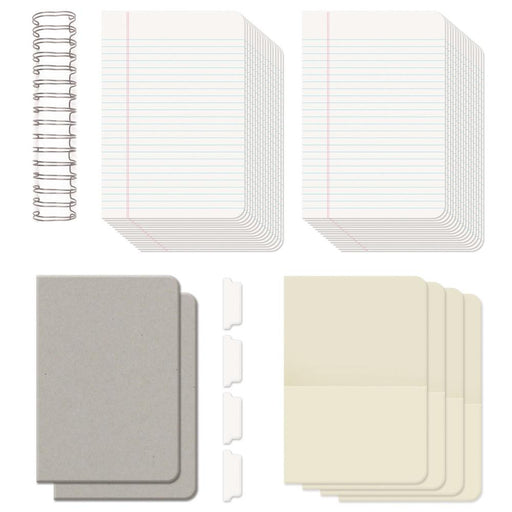 "We R Memory Keepers Cinch Journal Kit 8"" x 9"" Covers, Pages & Wire 62363 