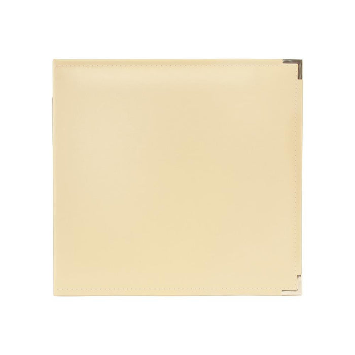 We R Memory Keepers Classic Leather 3 Ring Album 12 X 12 Vanilla