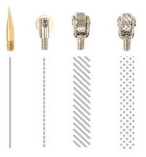 We R Memory Keepers Fuse Tool Tips 4-Pkg Decorative, Cutting & Fusing WR660870 | Maple Treehouse