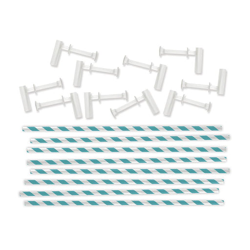 We R Memory Keepers Pinwheel Attachments Aqua 713 57 | Maple Treehouse