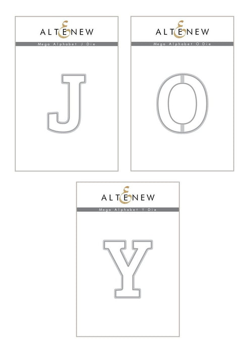 Altenew Die Mega Alphabet 'Joy' Bundle