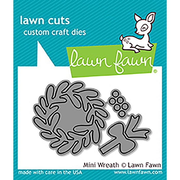 Lawn Fawn Cuts Die Mini Wreath LF1496