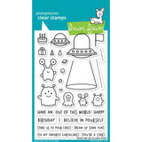 "Lawn Fawn Clear Stamps 4""X6"" Beam Me Up LF1597"
