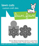 Lawn Fawn Cuts Reveal Wheel Snowflake Add-On LF1794