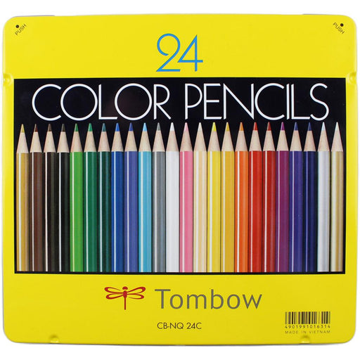 Tombow 1500 Colored Pencils 24/Pkg 51631
