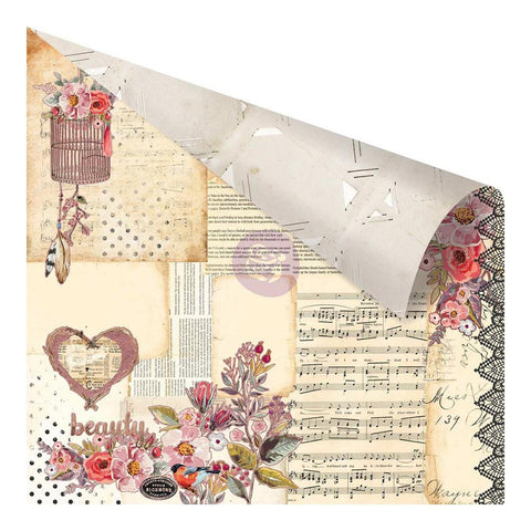 "Prima Marketing Rossi Belle Double-Sided Cardstock 12""X12"" Vintage Memories RO12 47777 