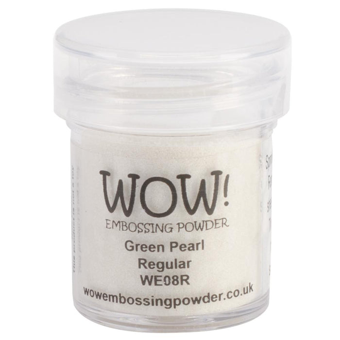 Wow Embossing Powder 15ml Green Pearl WOW WE08R