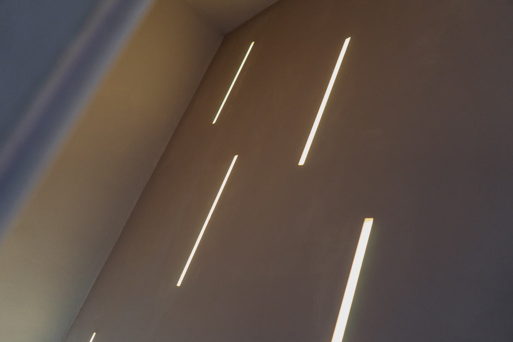 Recessed LED Strip lighting in the Smart 27