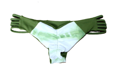 HANA Bottom | GREEN TIEDYE & OLIVE | Limited Edition