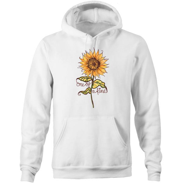 One of a Kind (Sunflower) AS Colour Stencil - Pocket Hoodie Sweatshirt