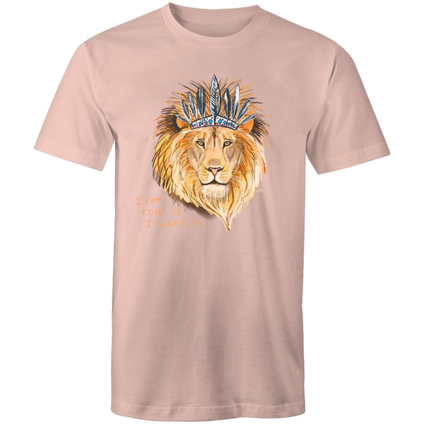 Boho Lion AS Colour Staple - Mens T-Shirt/ Unisex