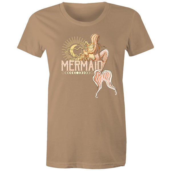 Mermaid Dreams (warm) lots of colours- Women's Maple Tee