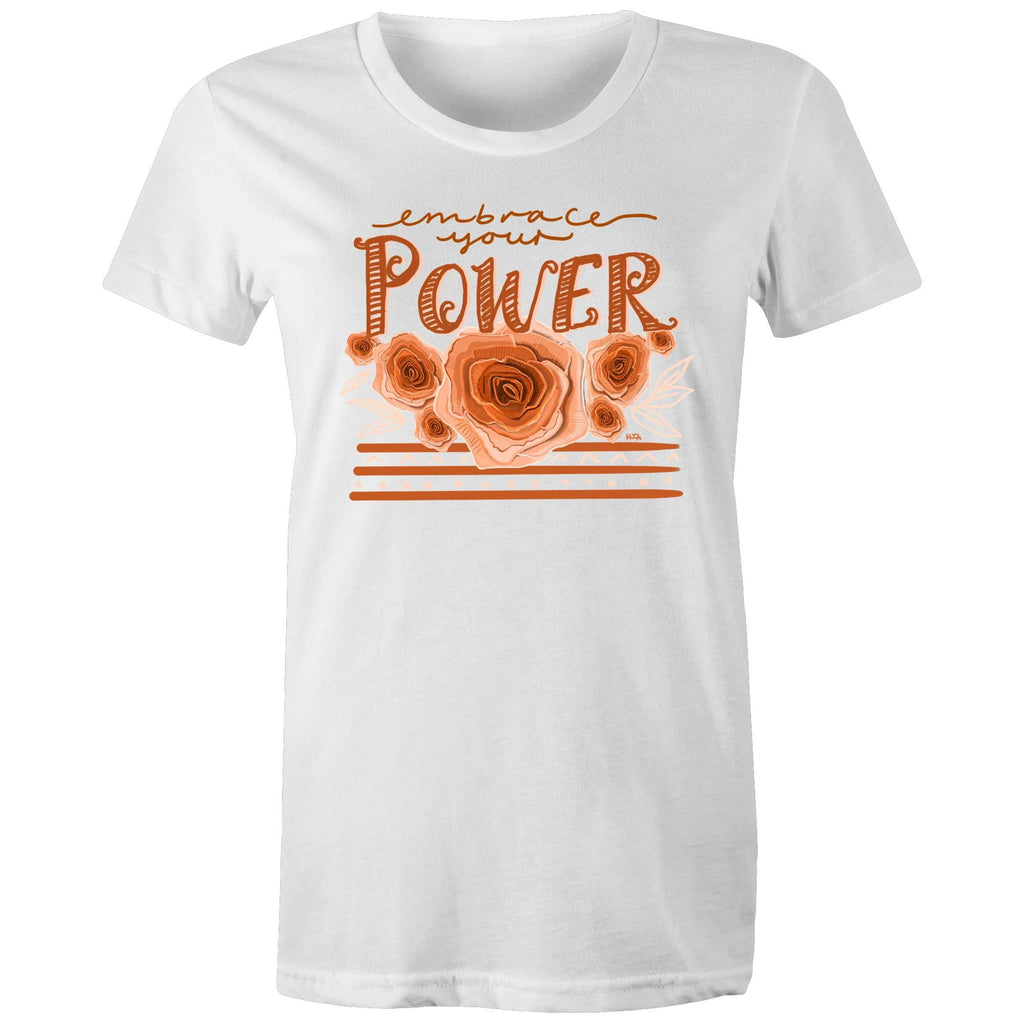 Embrace your Power - Women's Maple Tee