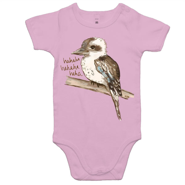 Kookie The Laughing Kookaburra - Baby Onesie Romper