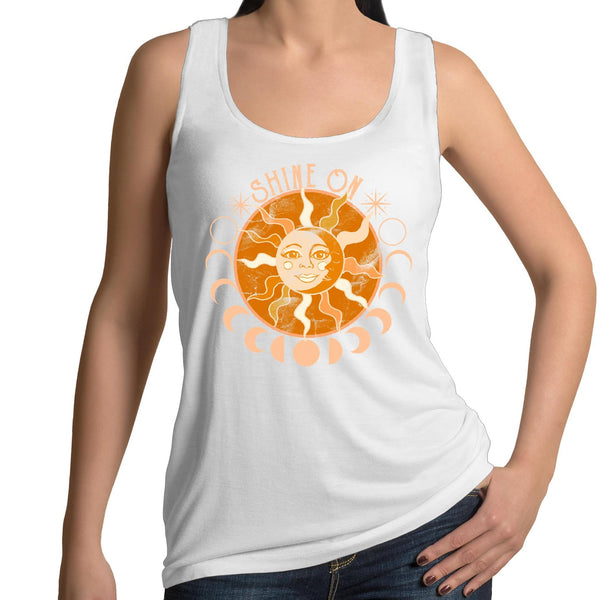 Shine On- AS Colour Tulip - Womens Singlet