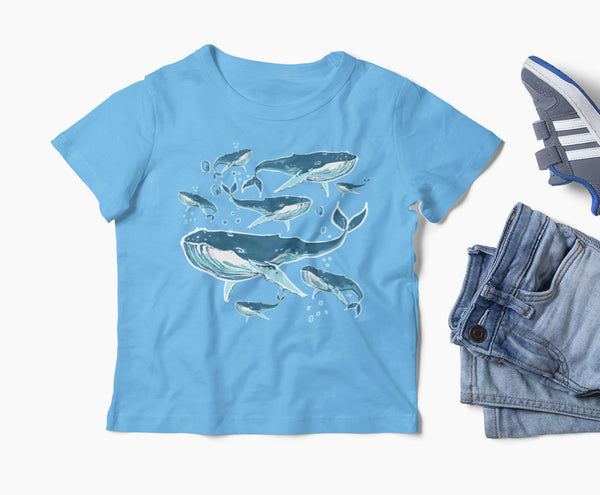 Blow Bubbles Whale T-Shirt