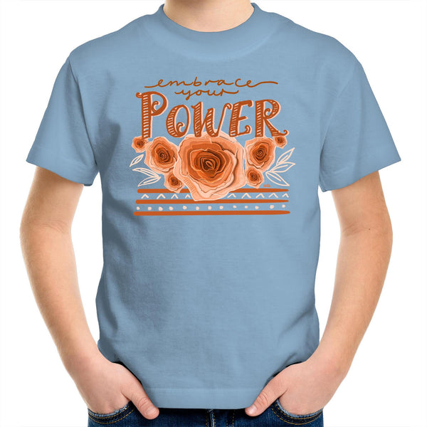 Embrace your Power- Kids Youth Crew T-Shirt