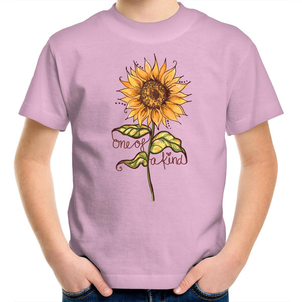 One of a Kind Sunflower kids T-Shirt