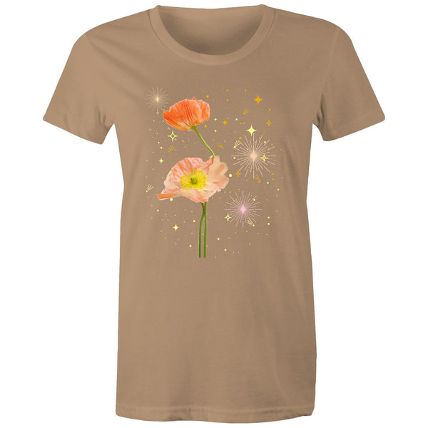 Starry Night (lots of colours) - Women's Maple Tee