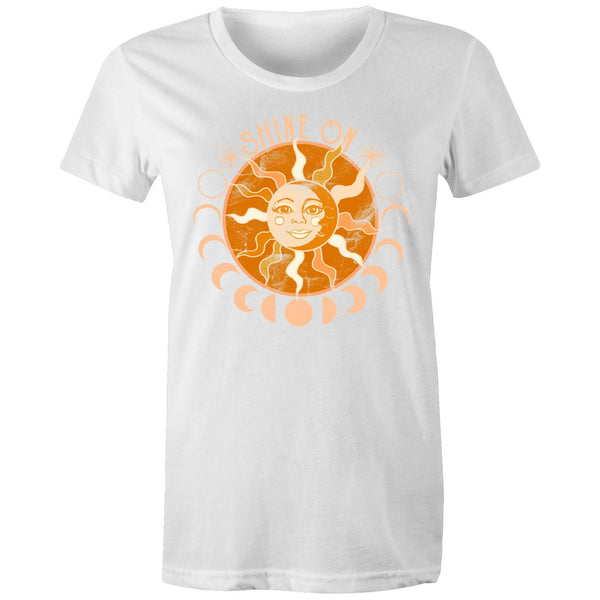 Shine On - Women's Maple Organic Tee