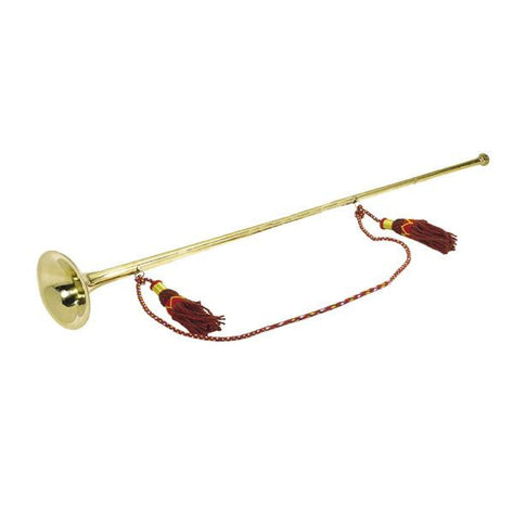 Temple Trumpet -Brass Plated