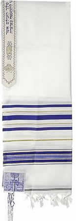 Tallit (Prayer Shawl) Roots Symbol 4 Corners