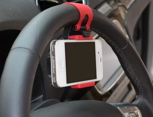 Universal Car Steering Wheel Mobile Phone Holder