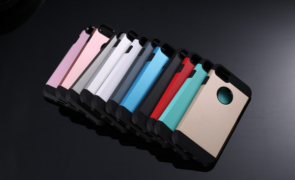 Tough Slim Shockproof Armor Case Cover for iPhone