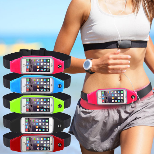 Waterproof Gym Waist Bag Case for iPhone