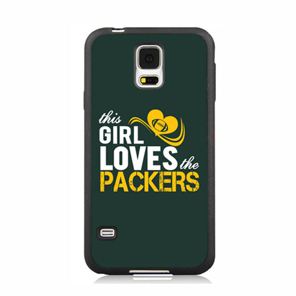 This Girl Loves Packers Green