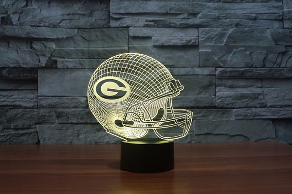Green Bay 3D Table Lamp