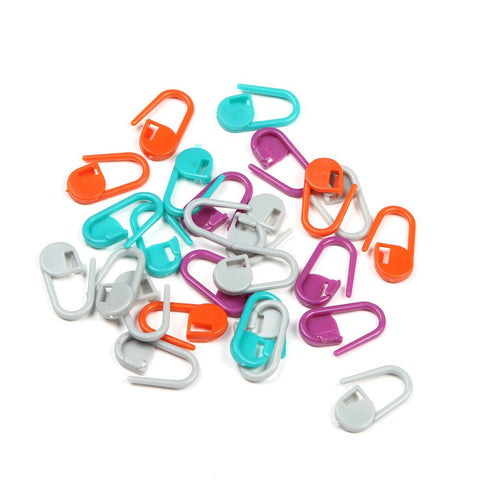100Pcs Plastic Knitting Crochet Locking Stitch Markers