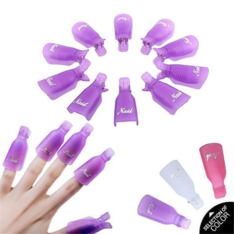 10pcs Remover Nail Polish Soaker Wrap