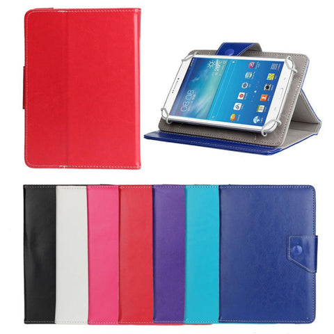 7 inch Universal Crystal Pu Leather Stand Case Cover For Android Tablet PC