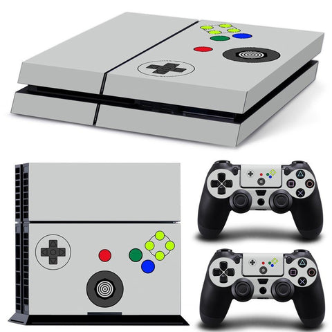 AKZ PS4 Anti-slip Skin Decal Stickers